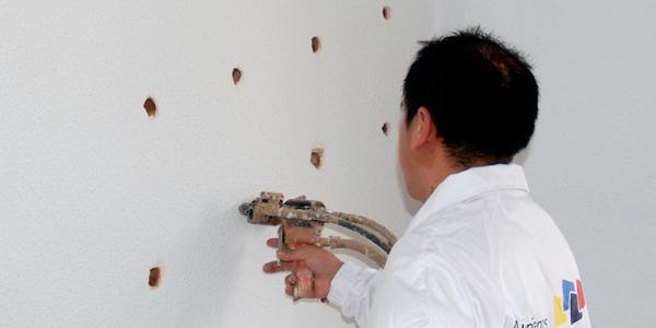 aislamiento térmico en paredes