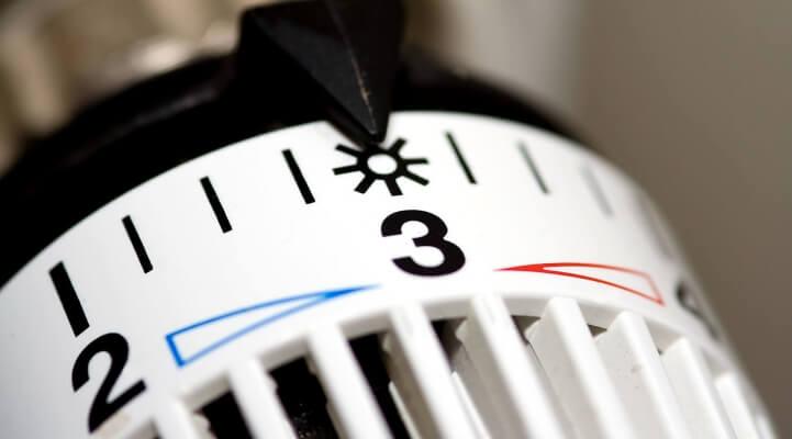 ahorrar calefacción termostato