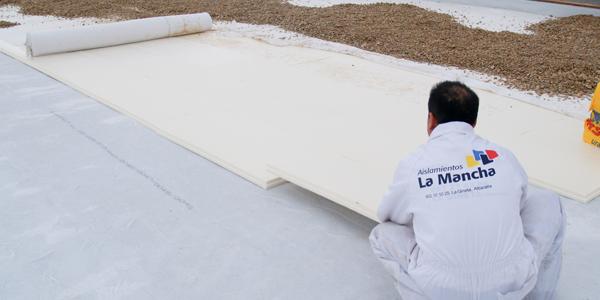 aislamiento térmico del techo