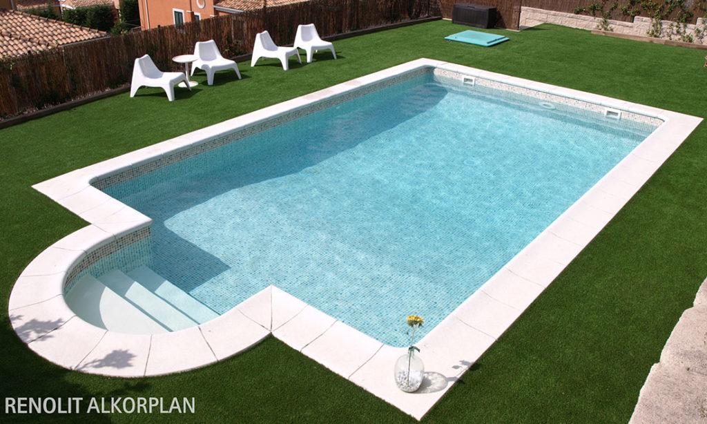 revestimiento para renovar la piscina