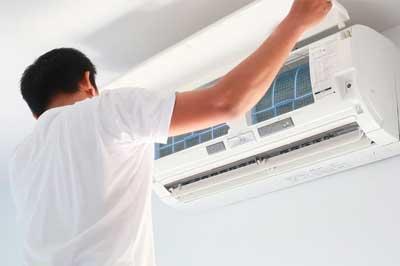 instalar el aire acondicionado