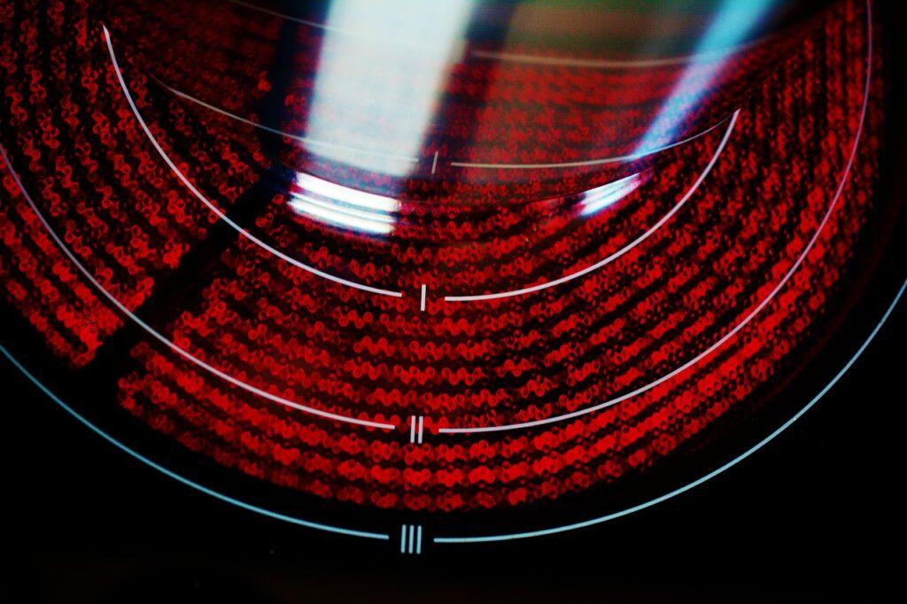 vitrocerámica y subida de la luz